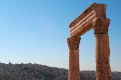 Amman, Jordania, Środkowy Wschód Zdjęcie Royalty Free
