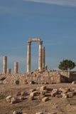Amman, Jordanie la citadelle Photo libre de droits
