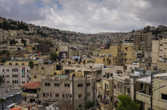 Amman, Jordanie - 28 mai 2016 : Paysage urbain d'Amman du centre, Jorda Photo stock