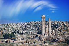 Amman Jordanien arkivfoto