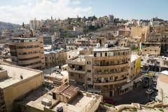 AMMAN, JORDANIEN - 11. MÄRZ 2018: Stadt von Amman, die Hauptstadt von Jo Stockfotos