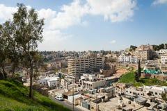 AMMAN, JORDANIEN - 11. MÄRZ 2018: Stadt von Amman, die Hauptstadt von Jo Stockfoto