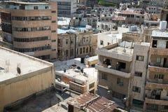 AMMAN, JORDANIEN - 11. MÄRZ 2018: Stadt von Amman, die Hauptstadt von Jo Stockfotografie