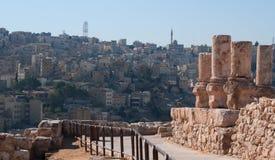 Amman Jordanien, Mellanösten Fotografering för Bildbyråer