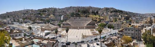 Amman, la capitale de la Jordanie Photographie stock libre de droits