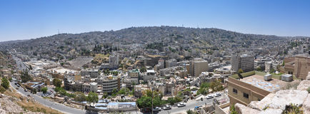 Amman, la capitale de la Jordanie Image stock
