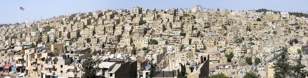 Amman - la capitale du royaume de la Jordanie Photos stock