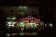 Amman par nuit, Jordanie Images stock