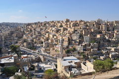 Amman Suburbs in day light. City of Amman in Day time Royalty Free Stock Photography