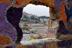 Ammans-Amphitheater lizenzfreies stockfoto