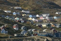 Ammasalik, Grönland Stockfoto