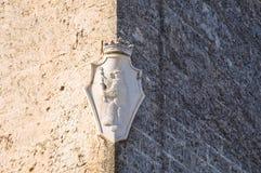 Ammazzalorsa palace. Bisceglie. Puglia. Italy. Stock Photo