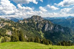 Free Ammergau Alps In Summer Royalty Free Stock Image - 184370086