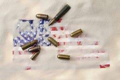 Ammerican ammunition Stock Image