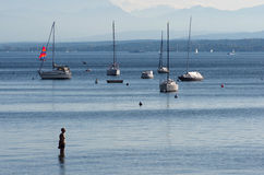 Ammersee Imagens de Stock Royalty Free