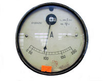 Ammeter Royalty Free Stock Images