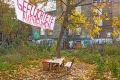 Ammetta i rifugiati fotografia stock libera da diritti