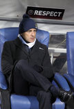 Amministratore municipale Roberto Mancini di FC Manchester Fotografia Stock Libera da Diritti