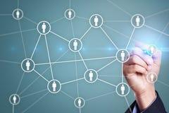 Amministrazione delle risorse umane, ora, assunzione, direzione e team-building fotografie stock