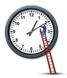 Amministrazione di tempo illustrazione vettoriale