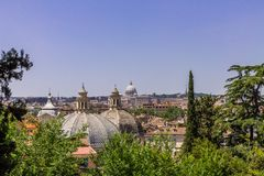 Ammirare Roma fotografie stock