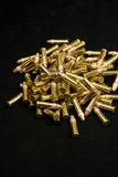 Ammo 1. A pile of old ammo Royalty Free Stock Photo