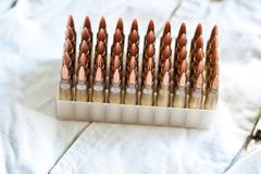 Ammo Stock Photo
