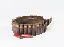 Ammo belt Royalty Free Stock Image