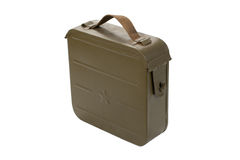 Ammo case on white Royalty Free Stock Photos