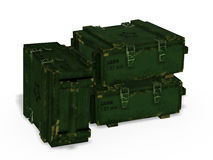 Ammo crates Royalty Free Stock Photo