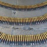 Ammo dla nowożytnego helikopteru pistoletu Zdjęcie Royalty Free