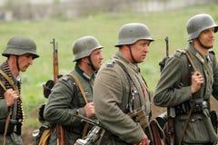 ammo niemiec mundur ww2 Obraz Royalty Free