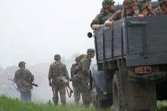ammo niemiec mundur ww2 Zdjęcia Royalty Free