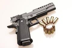 ammo pistolet Fotografia Royalty Free