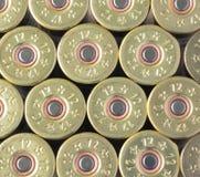 Ammo till maskingevär och pistoler i buren Royaltyfri Fotografi