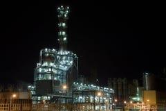Ammonia production Royalty Free Stock Photo