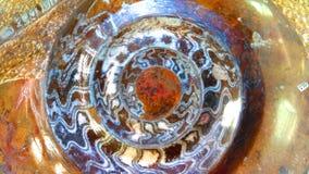 Ammonite Gemstone Background Royalty Free Stock Image