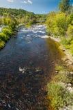 Ammonoosuc rzeka obraz stock