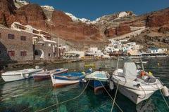 Ammoudi Bay Royalty Free Stock Images