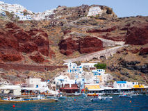 Ammoudi Bay Oia Santorini Royalty Free Stock Photography