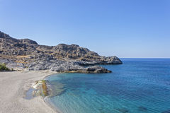Ammoudi beach, south Crete Royalty Free Stock Image