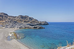 Ammoudi beach, south Crete stock images