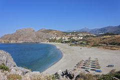 Ammoudi beach, south Crete Royalty Free Stock Photo