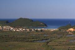 ammoudia nordliga greece Royaltyfri Fotografi