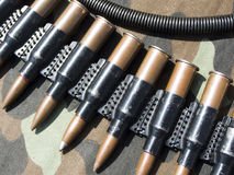 Ammunition. Kuli ready to firing. Weapon that carries death stock image