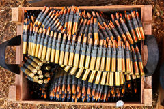 Ammunition Stock Photo