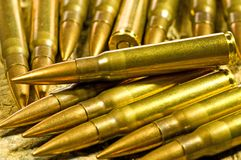 Ammunition 8X57 IS Stock Photo