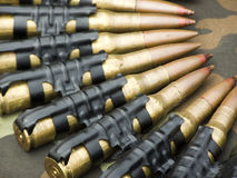 Ammunition. Kuli ready to firing. Weapon that carries death stock photos