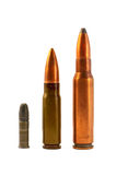 Ammunition for the automatic weapons Royalty Free Stock Photography