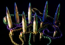 Ammunition back from Mardi Gras Royalty Free Stock Photos